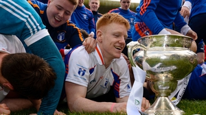 Mary I's David Sweeney gazes at the cup