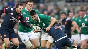 Conor Murray crossed for Ireland's try