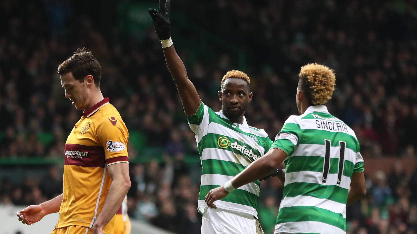 Dembele on the double as Celtic win again