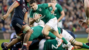 Conor Murray scored the only try of the game