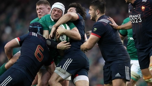 Rory Best is gobbled up by Bernard le Roux