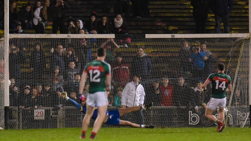 Cillian O'Connor fires home from the spot