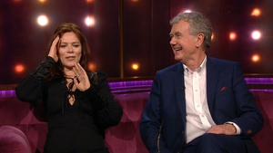 Anna Friel is reunited with her Brookside co-star Bryan Murray