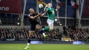 Keith Earls in action during Ireland's 10-point win