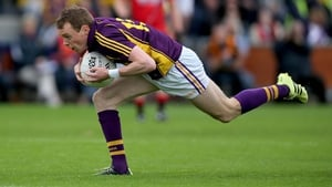 Kevin O'Grady scored 1-2 for Wexford