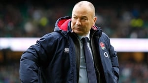 Eddie Jones scowls at Twickenham