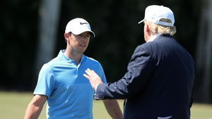 Rory McIlroy played golf with Donald Trump back in 2017