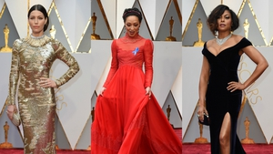 It's fashion's most exciting night of the year! The Oscars 2017 red carpet is filled with celebrities in Oscar fashion, designer gear, red carpet dresses and more for the 89th Academy Awards.