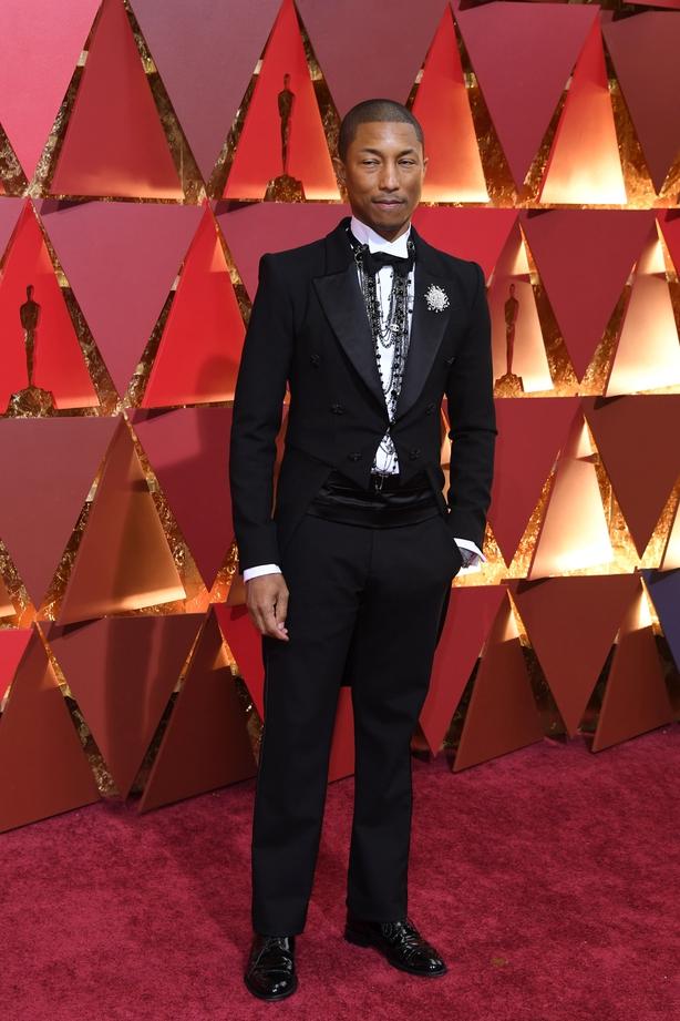 Pharell Williams Oscars 2017