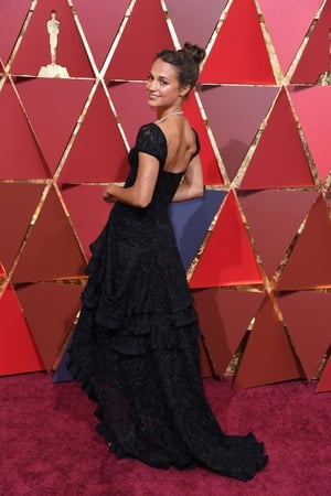 Alicia Vikander is glowing in Louis Vuitton