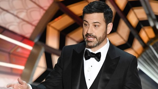 Oscars host Jimmy Kimmel poked fun at President Trump in his opening monologue