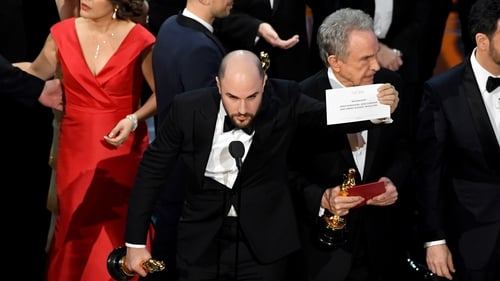 At the Oscars last year, the wrong film was named the winner of Best Picture due to a mix-up with the envelopes backstage
