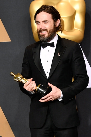Best Actor winner Casey Affleck, who picked up the gong for Manchester By the Sea