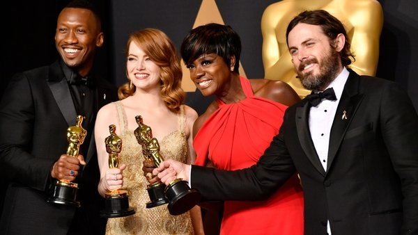 See the winners in the Oscars Press Room