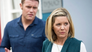 Gráinne discovers that David has been sacked . .
