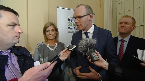 Simon Coveney said it is his job to try to find a solution to allow Waterford city expand
