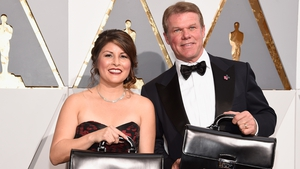 Martha Ruiz and Brian Cullinan were the accountants from PwC at the Oscars on Sunday night