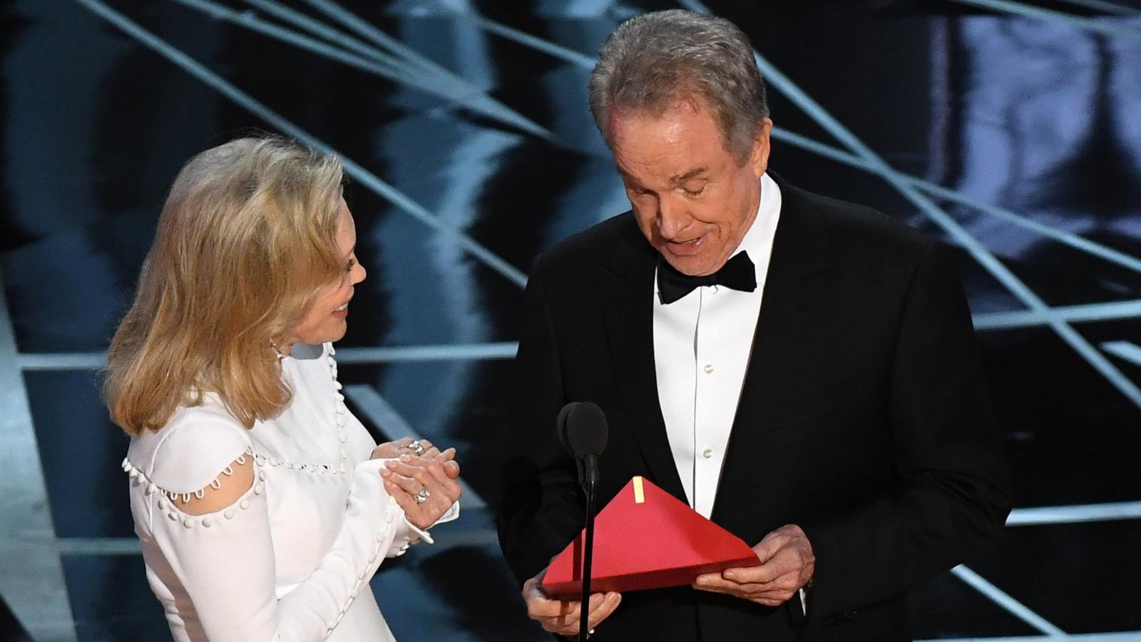 Warren Beatty Faye Dunaway Get Oscars Do Over