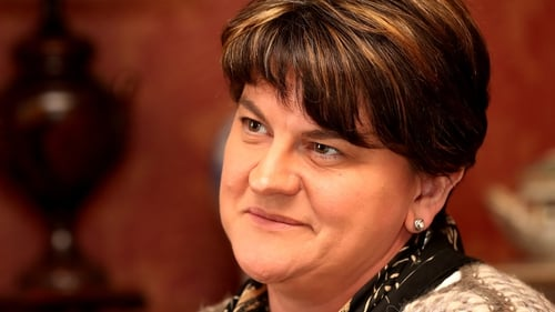 Arlene Foster told RTÉ News there are still gaps in the ongoing talks
