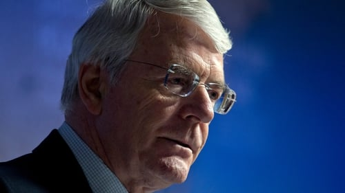 John Major said planned agreement could hurt the Northern Irish peace process