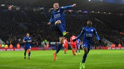 Jamie Vardy was back among the league goals