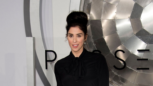 "Sarah Silverman - ""As a comic always working & on the road I have had to decide between motherhood & living my fullest life & I chose the latter"""