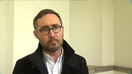 Eoin Ó Broin said some families were being forced to live in appalling conditions