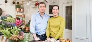 Philip Boucher-Hayes and Hilary O'Hagan-Brennan from What Are You Eating?
