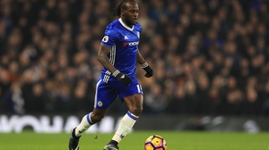 Victor Moses has reinvented himself as a wing-back under Antonio Conte