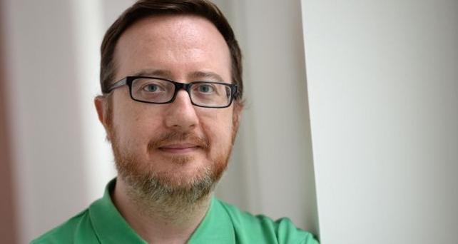Composer Andrew Hamilton. Photograph: Dara Mac Dónaill