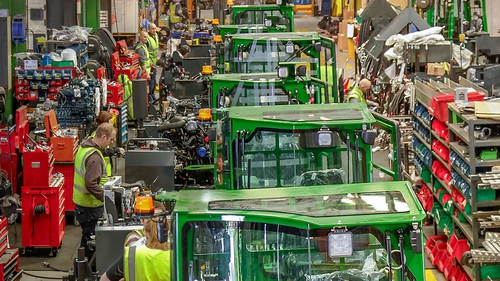 The UK accounts for 25% of Combilift's business
