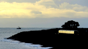 Train arriving in Greystones, Co Wicklow (Pic: Brian Keeley)