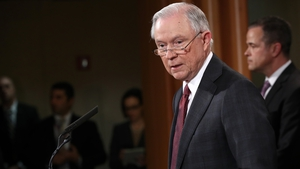 Jeff Sessions said his statement should not be interpreted as confirming the existence of any investigation