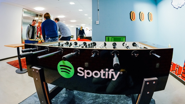 Spotify's paying customers grew ahead of expectations, but its total active monthly userbase did not