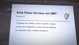 Fianna Fáil and Fine Gael on Water Charges