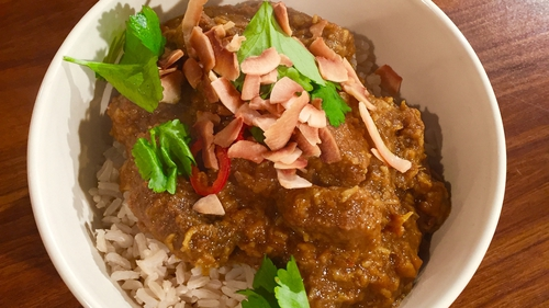 Eunice Power's Coconut Beef Casserole