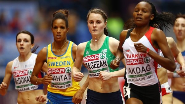 Ciara Mageean qualified for Saturday's final of the 1500m as a fastest loser