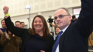 Sinn Féin's Barry McElduff pictured at a count centre last year
