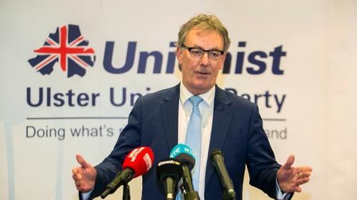 Mike Nesbitt saidhe had been reflecting on the results andsaid the 'buck stops here'