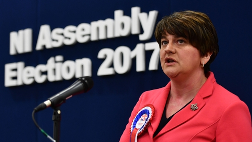 Arlene Foster's DUP won 28 seats in Friday's election