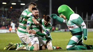 Shamrock Rovers will look to plunder an away goal tonight