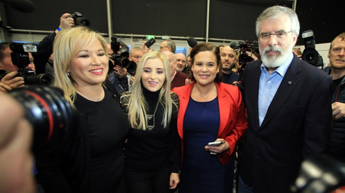 Sinn Féin came extremely close to securing more first preference votes than the long-time largest party, the DUP