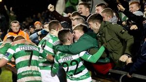 Shamrock Rovers got the better of Dublin rivals Bohemians in Tallaght