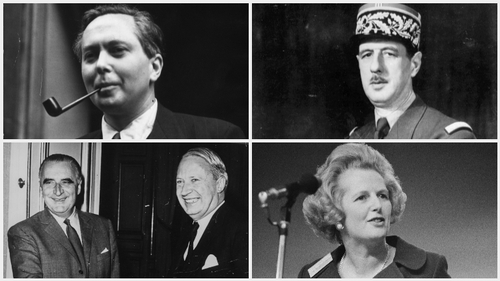 Harold Wilson, Charles de Gaulle, George Pompidou, Edward Heath and Margaret Thatcher were all involved in Britain's complicated history with Europe