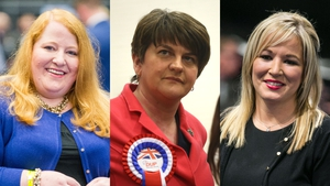 Alliance Party leader Naomi Long, DUP leader Arlene Foster and Sinn Féin leader Michelle O'Neill all retained their seats