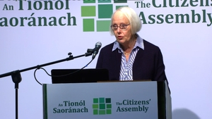 Mary Laffoy said she was satisfied the incident had no impact on the work of the assembly