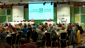 Mary Laffoy told the assembly that even with an extended timetable it was not been possible to accommodate all groups