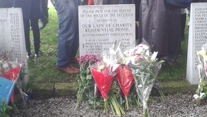 Flowers were laid on Magdalene graves in several locations around the country today