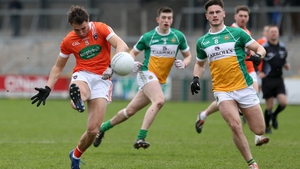 Stephen Sheridan scored two points in Armagh's big win