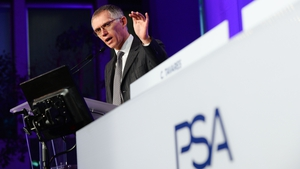 PSA Group's chief executive Carlos Tavares